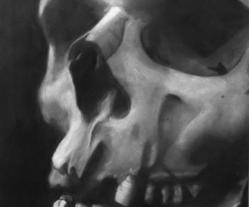 Skull by Paul - Charcoal for Beginners